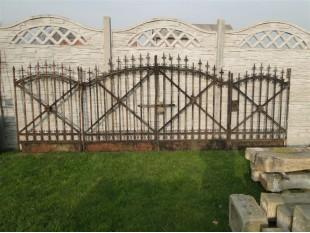 Schönes historisches Tor Komplettset, Original 1880 Jahr