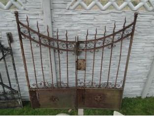 Schönes historisches Tor, das Original 1850 Jahr