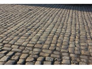 Historisches Granitpflaster 18cm x 20 cm, grau